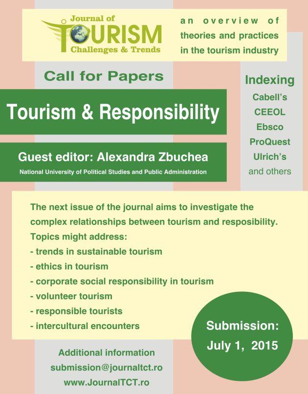 JTCT CFP Tourism & Responsibility